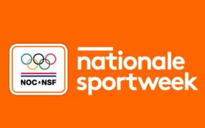 Nationale sportweek van 20 tot 26 september